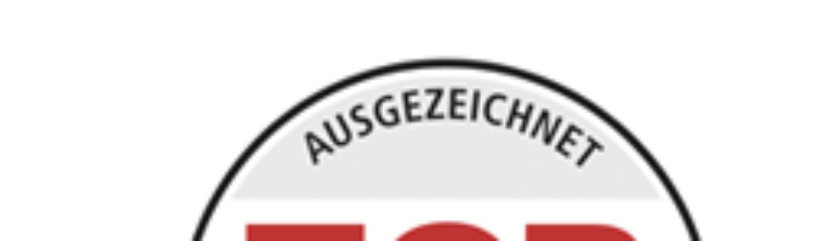 11. FOCUS-Auszeichnung im 21. Jahr der Kanzlei
