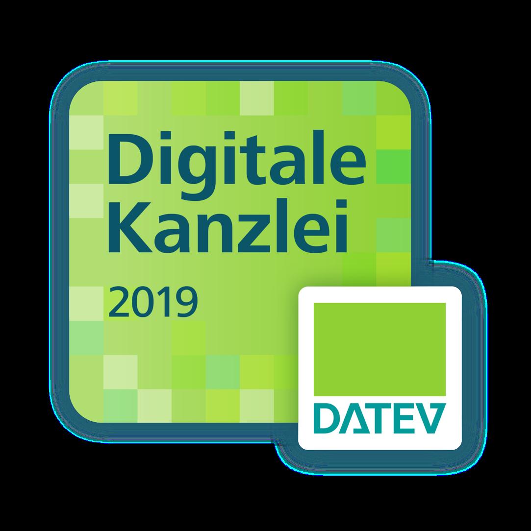 """DATEV zeichnet uns als """"Digitale Kanzlei 2019"""" aus"""